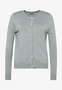 Anna Field - BASIC- PEARL BUTTON CARDIGAN - Cardigan - green - 3