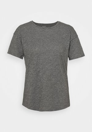 WHISPER CREWNECK TEE - Camiseta básica - mercury