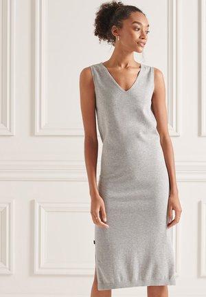 Gebreide jurk - mid marl