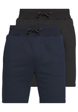 PLACEHOLDER 2 PACK - Shorts - dark blue/black