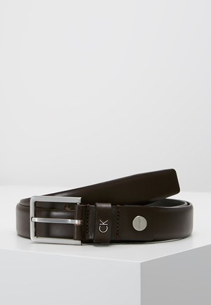 FORMAL BELT - Bælter - brown