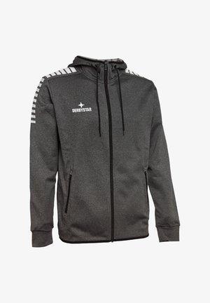 Zip-up sweatshirt - grauschwarz
