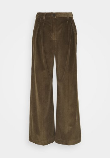 BELLA - Trousers - mud