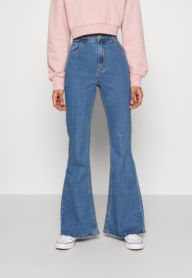 Cotton On - VINTAGE FLARE - Flared Jeans - coogee blue