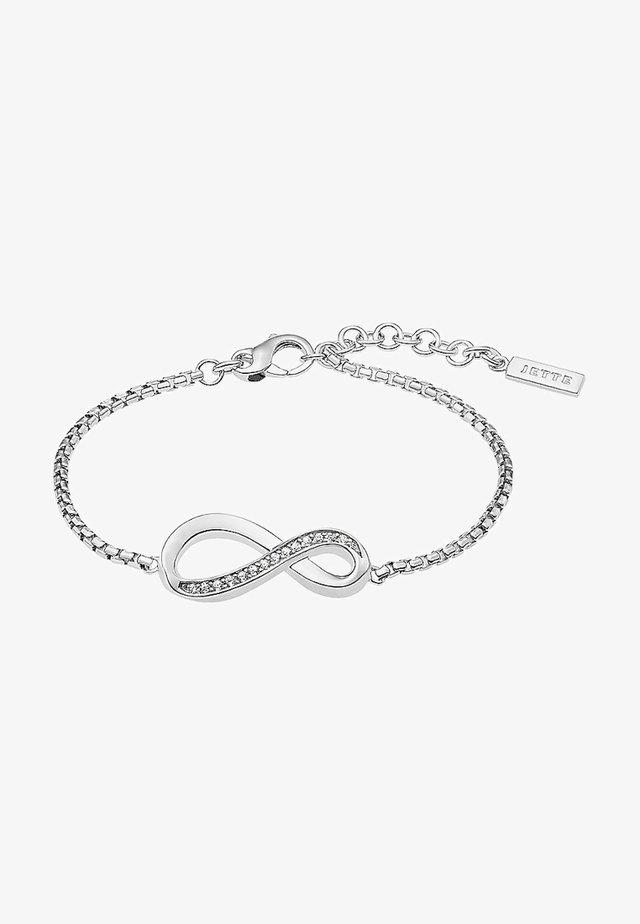 JETTE SILVER ARMBAND - Bracelet - silver-coloured