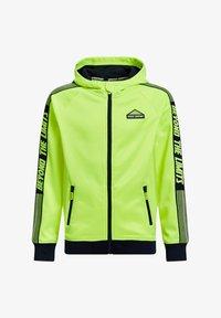 WE Fashion - Sweatjakke /Træningstrøjer - bright yellow - 0