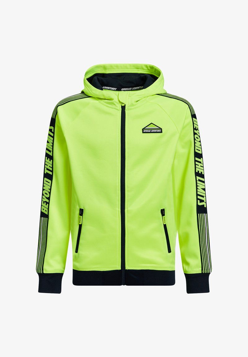WE Fashion - Sweatjakke /Træningstrøjer - bright yellow