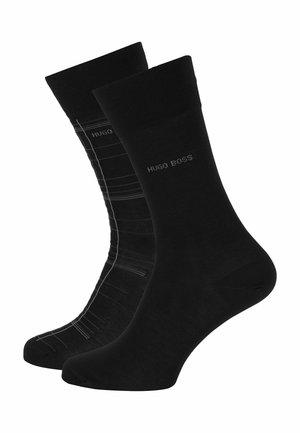 2-Pack - Socks - black