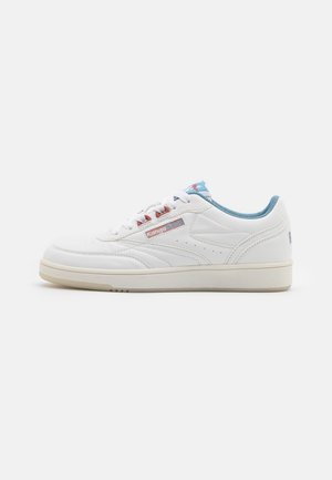 RC-RACKET - Baskets basses - white/faded blue
