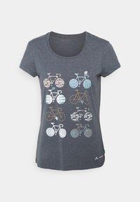 Vaude - WOMEN'S CYCLIST - T-Shirt print - steelblue - 0
