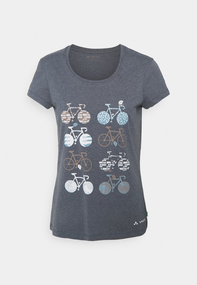 WOMEN'S CYCLIST - T-shirt med print - steelblue