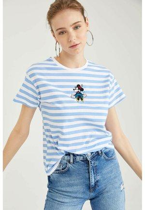 DISNEY  - T-shirt imprimé - white