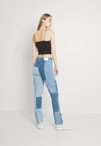 Missguided - PATCHWORK - Jeans straight leg - blue - 2