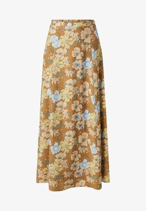 ROCK MAKAYLA - A-line skirt - pastellgelb