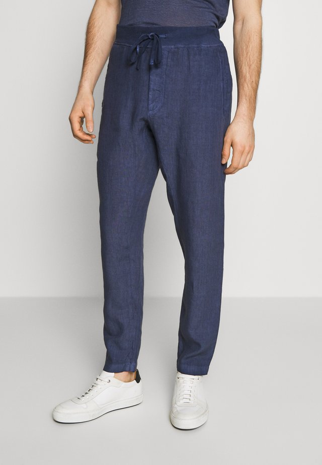 Trousers - dark blue fade