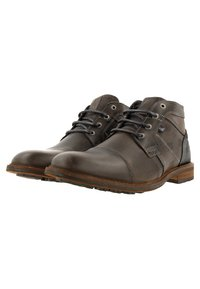 Gaastra - CREW MID CHAPA - Lace-up ankle boots - dark grey - 2