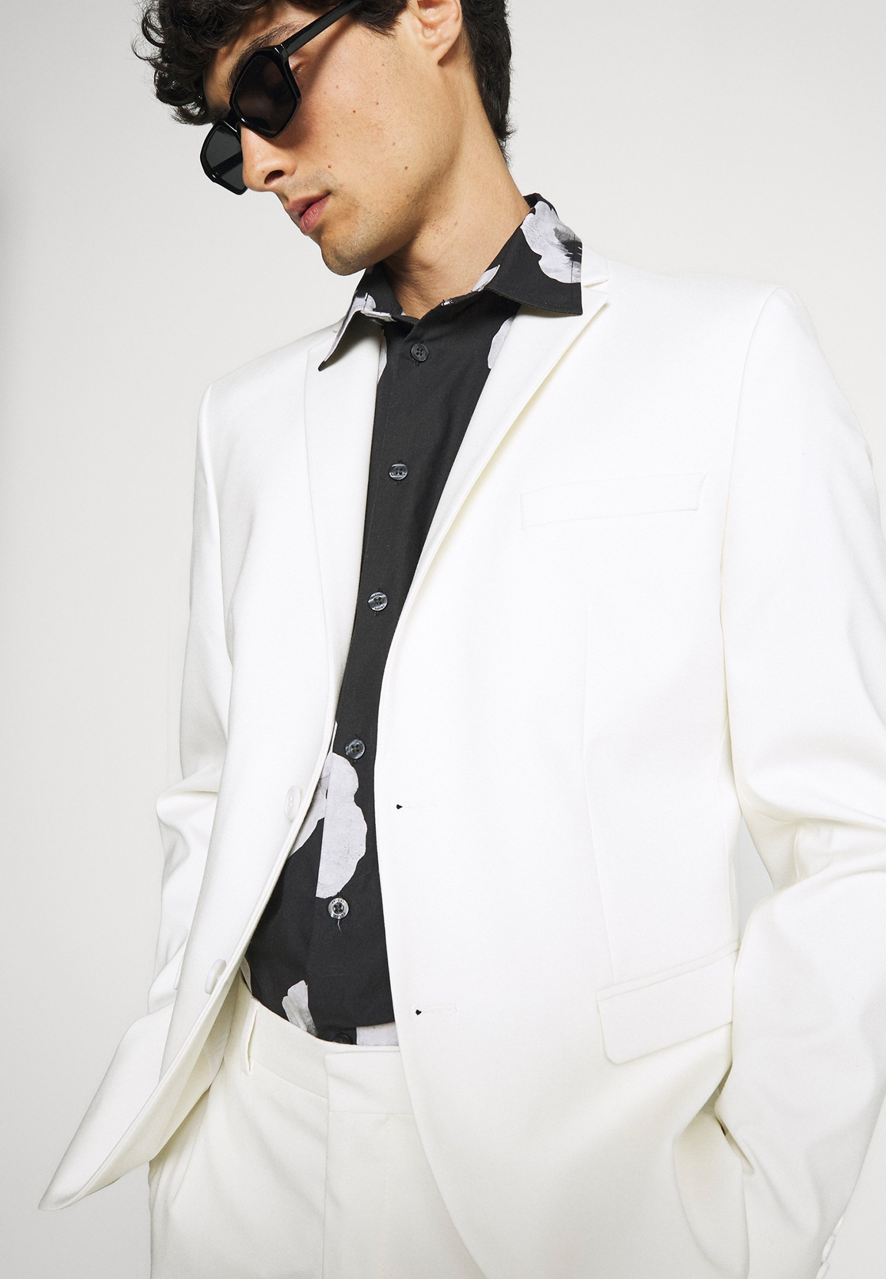 Homme SLHSLIM MYLOLOGAN OFF SUIT SET - Costume