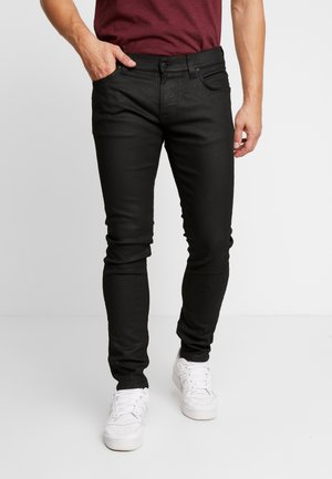 TIGHT TERRY - Slim fit -farkut - painted black