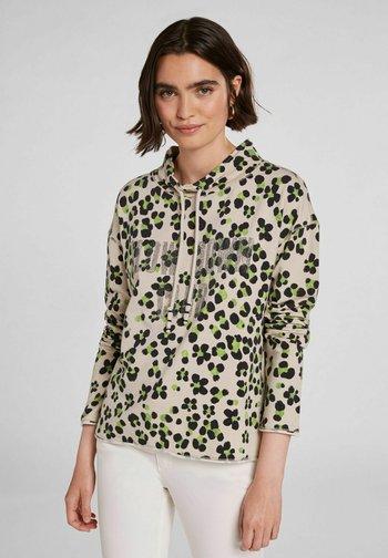 IM ANGESAGTEM PRINT - Sweatshirt - light grey green