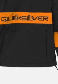 Quiksilver - STEEZE YOUTH UNISEX - Kurtka snowboardowa - true black - 3