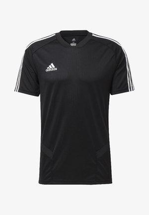 TIRO 19 TRAINING JERSEY - Print T-shirt - black