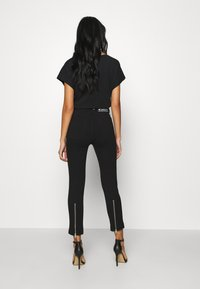 Diesel - P-CUPERY TROUSERS - Trousers - black - 2