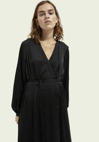 Scotch & Soda - Maxi dress - black - 4