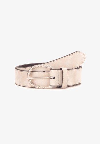 DAMENGÜRTEL - Belt - beige