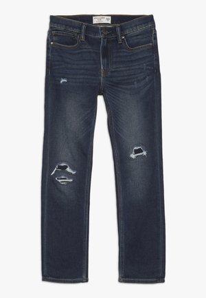 DARK DESTROY SKINNY  - Jeans Skinny Fit - dark blue