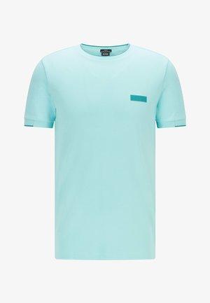 T-shirt basic - open blue