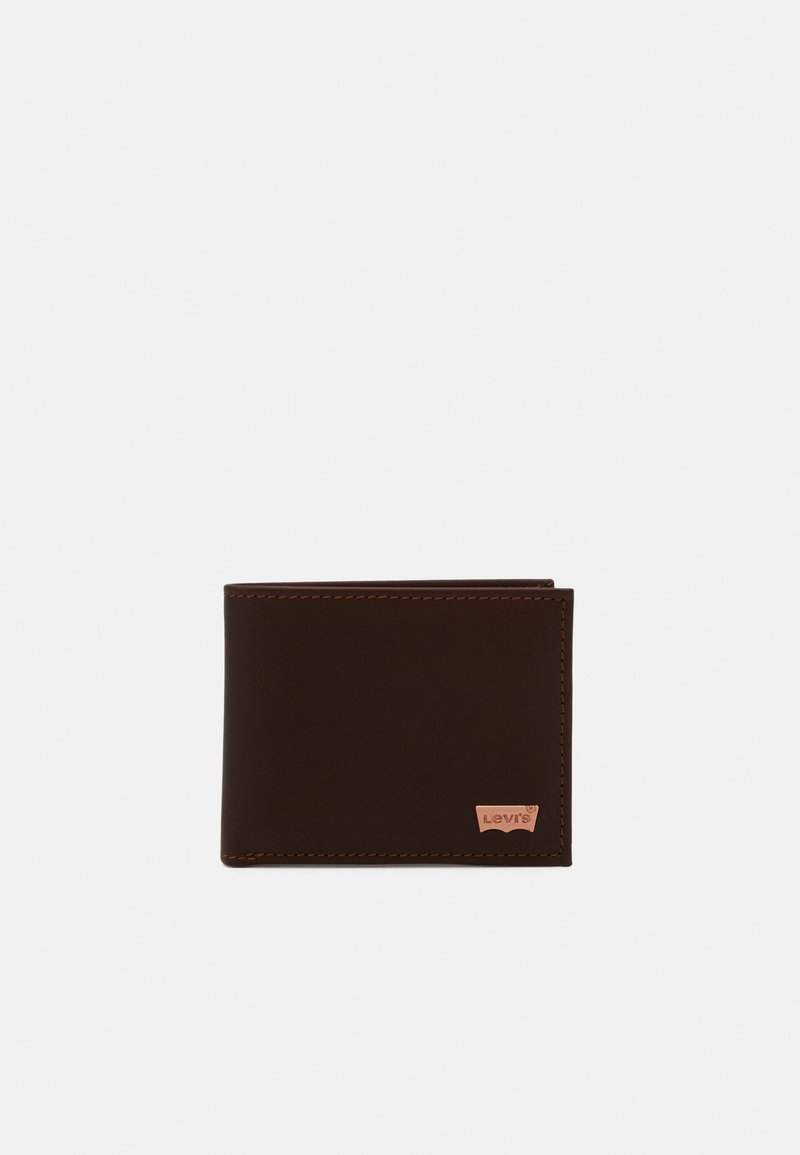 Levi's® - HUNTE BIFOLD BATWING - Wallet - brown