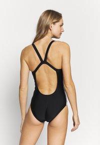 adidas Performance - Swimsuit - black/white - 2