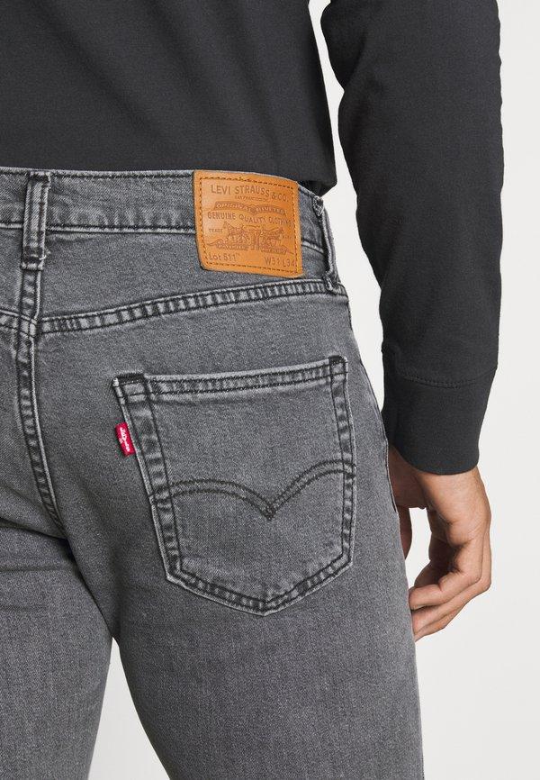 Levi's® 511™ SLIM - Jeansy Slim Fit - far far away t2/szary denim Odzież Męska EKWO