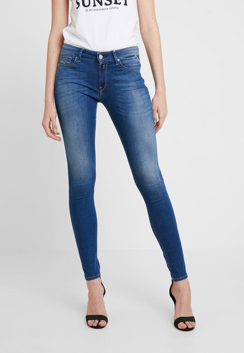 Replay - LUZ HIGH WAIST - Jeans Skinny Fit - medium blue