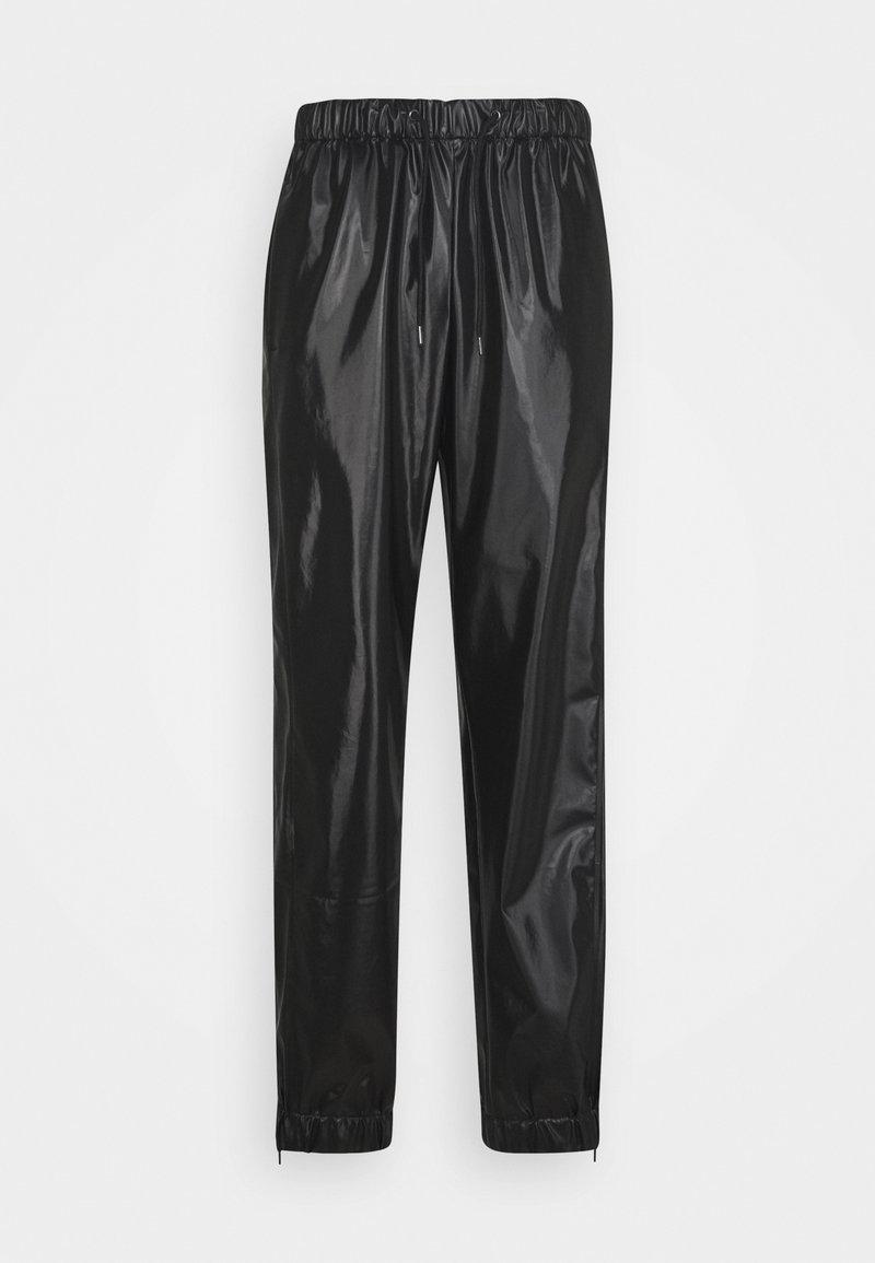 Rains - UNISEX PANTS - Trousers - shiny black