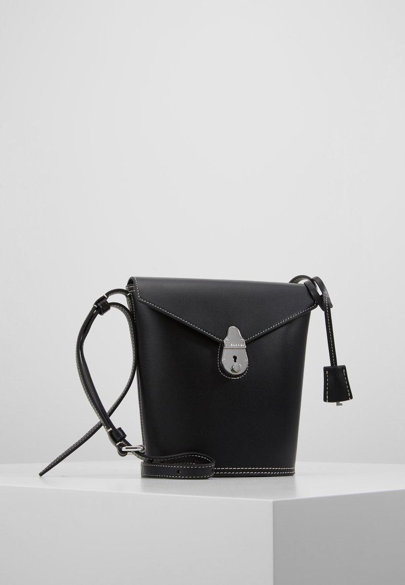 Calvin Klein - LOCK BUCKET - Across body bag - black