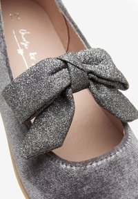 Next - MARY JANE - Ankle strap ballet pumps - grey - 4