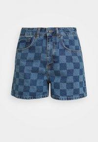 RAVE - Denim shorts - blue