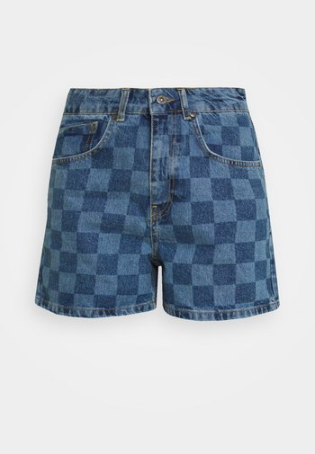 RAVE - Jeansshorts - blue