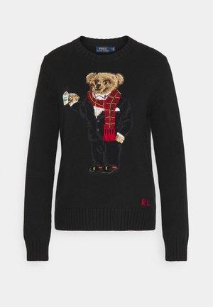 Pullover - black multi