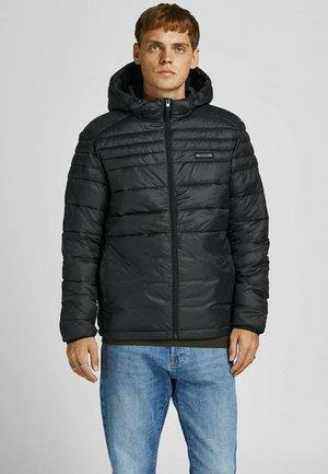JJEACE PUFFER - Winter jacket - schwarz