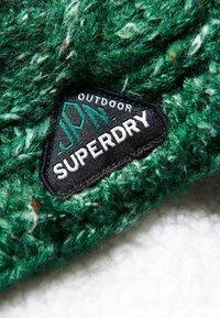 Superdry - GRACIE CABLE - Scaldacollo - burlington green tweed - 1