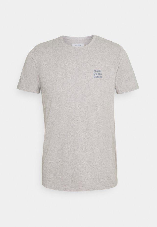 LOGO PRINT - Print T-shirt - silvered melange