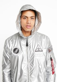 Alpha Industries - HOODED NASA - Summer jacket - silver - 4