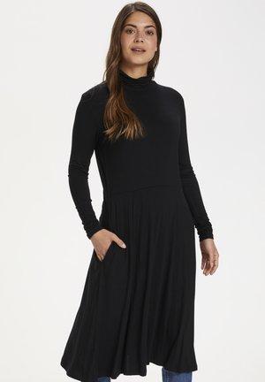 Jersey dress - black deep