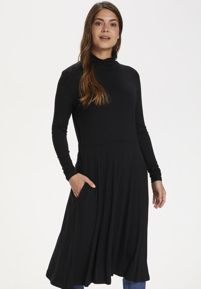 Jersey dress - black deep