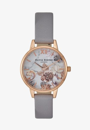 MARBLE FLORALS - Watch - grau/lila