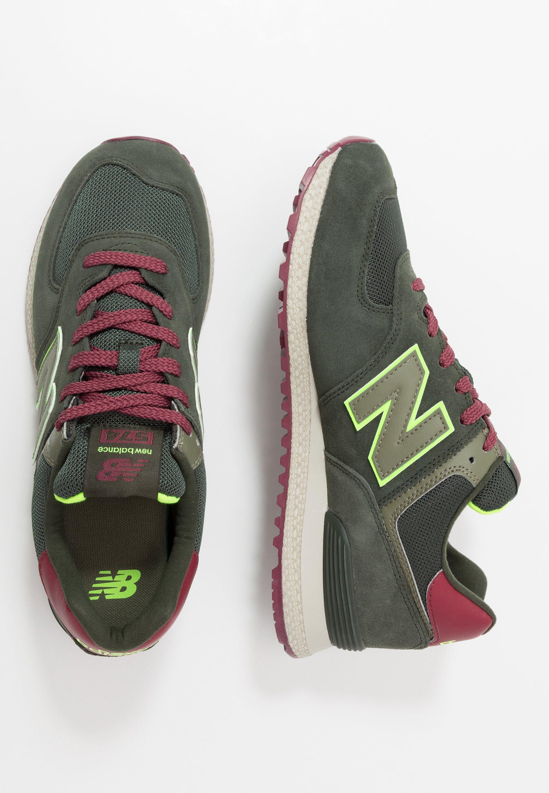New Balance 574 - Sneakers basse - green/verde scuro - Zalando.it