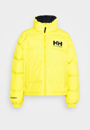 URBAN REVERSIBLE JACKET - Winterjacke - young yellow