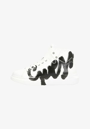 SALERNO MID - High-top trainers - white